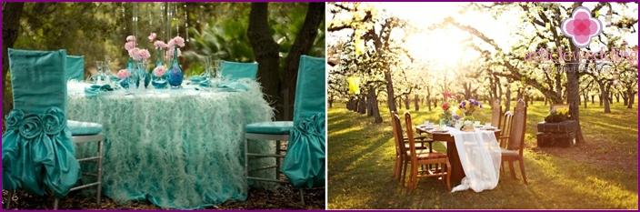 Vintage Hochzeitsort