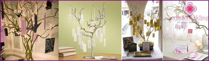 Hochzeitswunschbaum