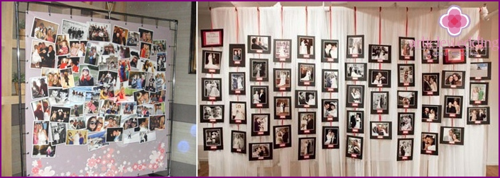 Hochzeitsfoto-Ständer