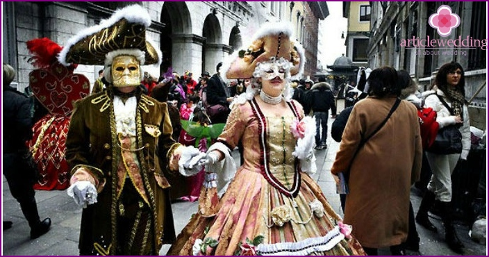 The magnificent carnival of Venice