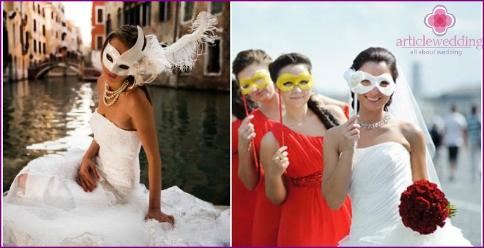 The image of the Venetian bride