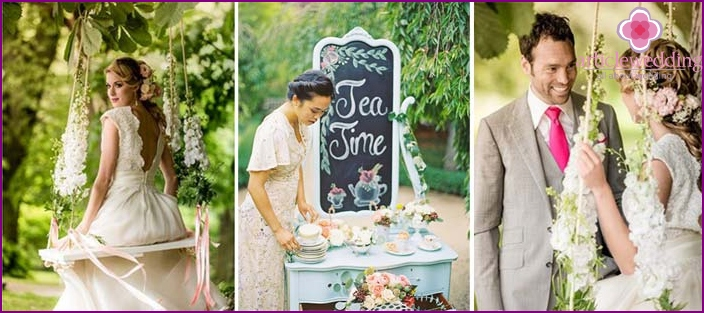 Shabby chic wedding photo shoot
