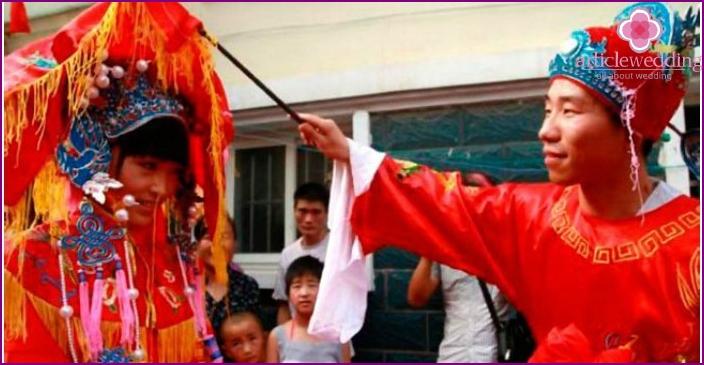 Traditional wedding of china