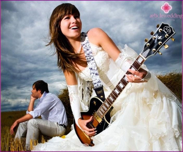 Rock & Roll Wedding Photo Shoot