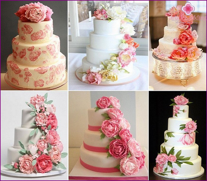 Mastic Wedding Cake