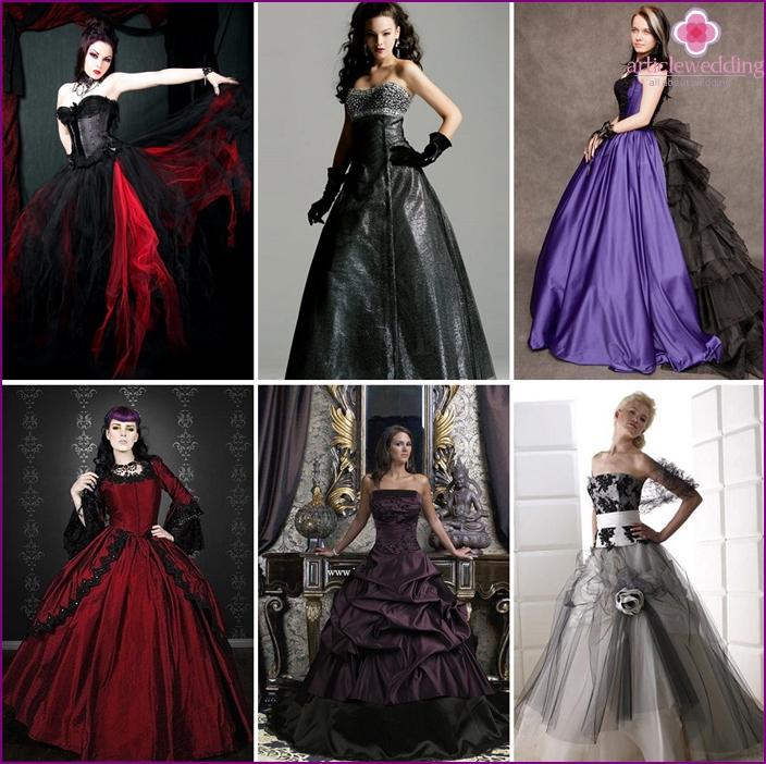 Gothic mekot ovat synkkä ja seksikäs