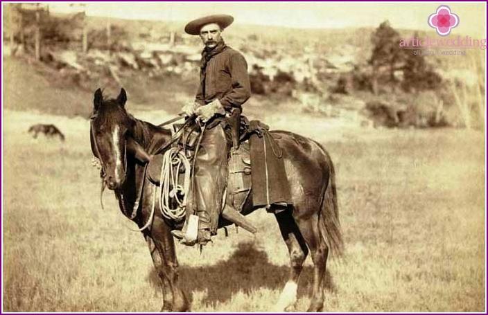 Photo of a real cowboy