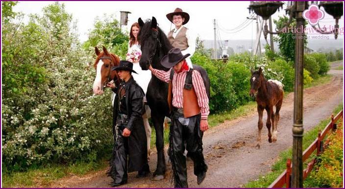 Cowboy Häät kulkue