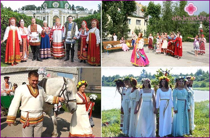 What to wear for guests at a Slavic wedding