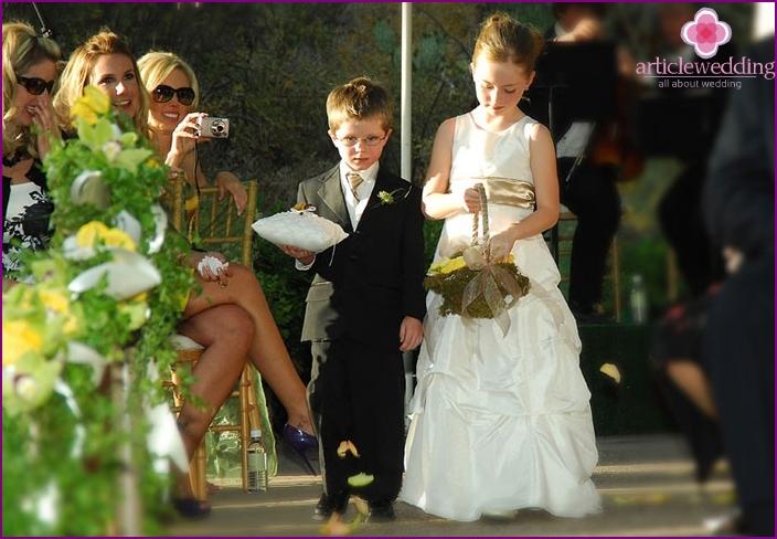 An essential attribute of a European wedding