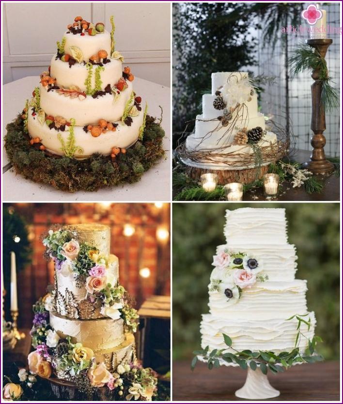 Waldart Hochzeitstorte