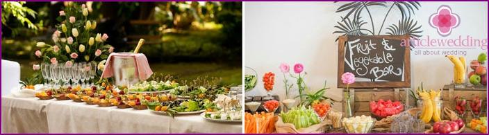 Boho Style Wedding Party