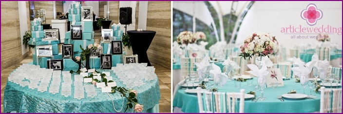 The decoration of the room is similar to the movie Breakfast at Tiffany's