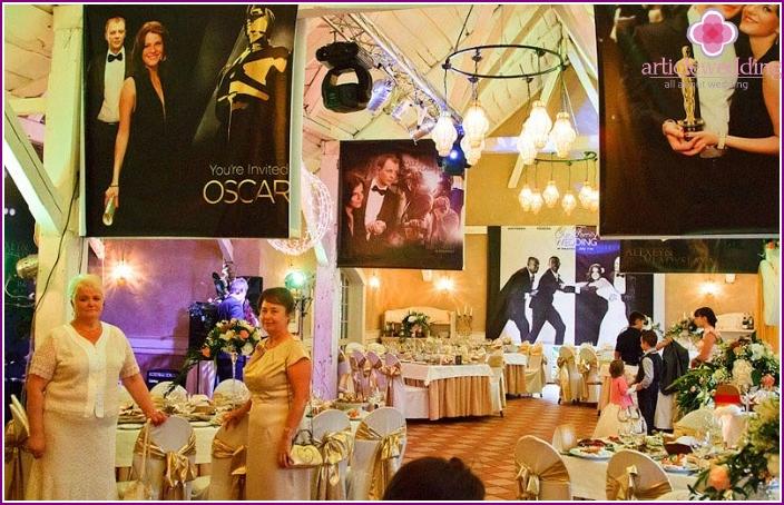 Movie Star Style Wedding Restaurant