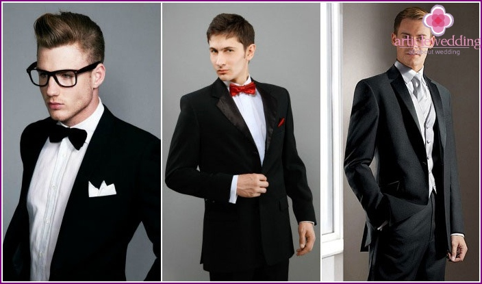Stylish groom look for movie star style wedding