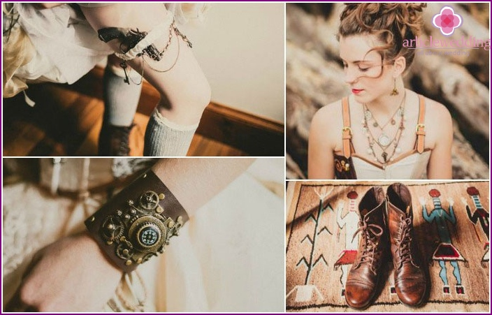 Unique Steampunk Look Details