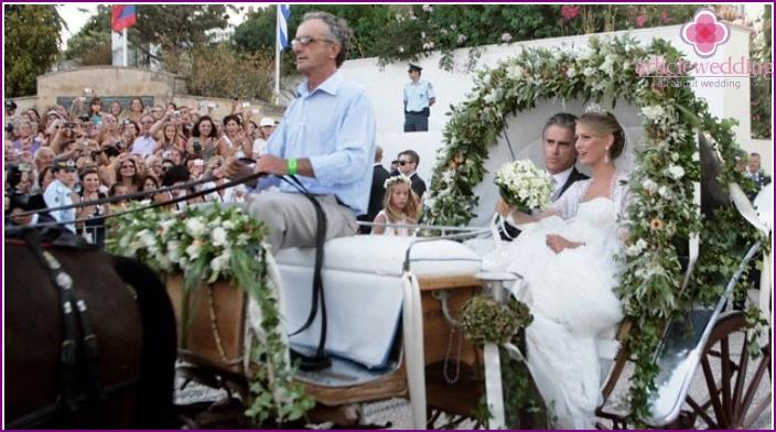 Summer Greek Wedding Celebration