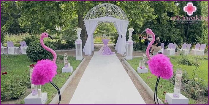 Juhlisuunnittelu Alice in Wonderland -tyylillä.