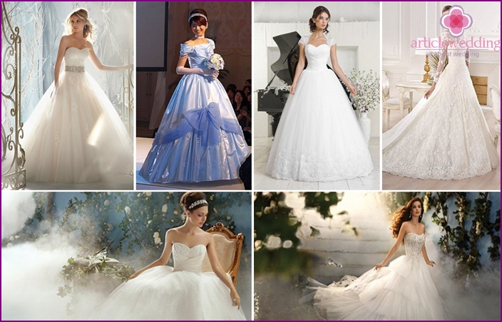Wedding Dresses for Cinderella