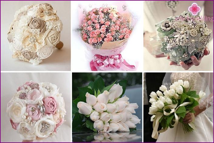 Bridal bouquet in fairy tale style