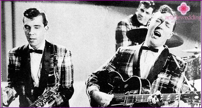 Ensimmäiset rock and roll esiintyjät