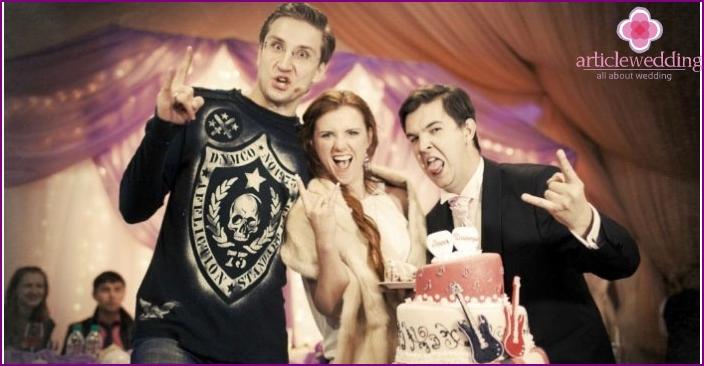 Lead rock wedding with the newlyweds