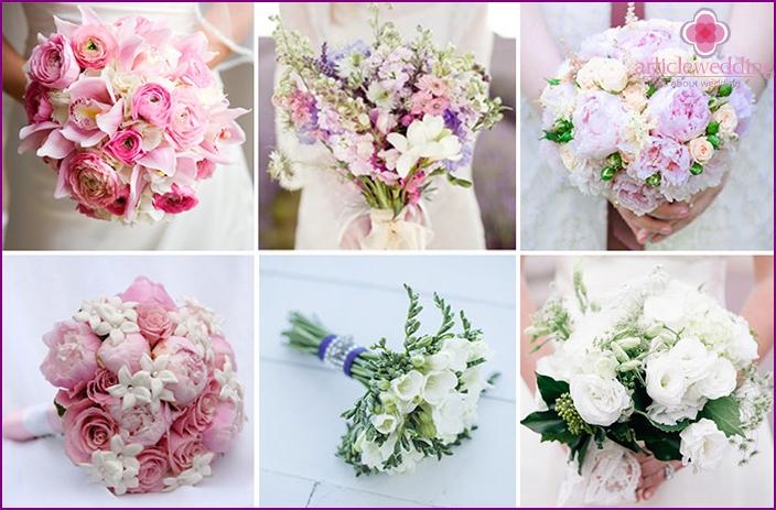 Bridal bouquet: Paris style
