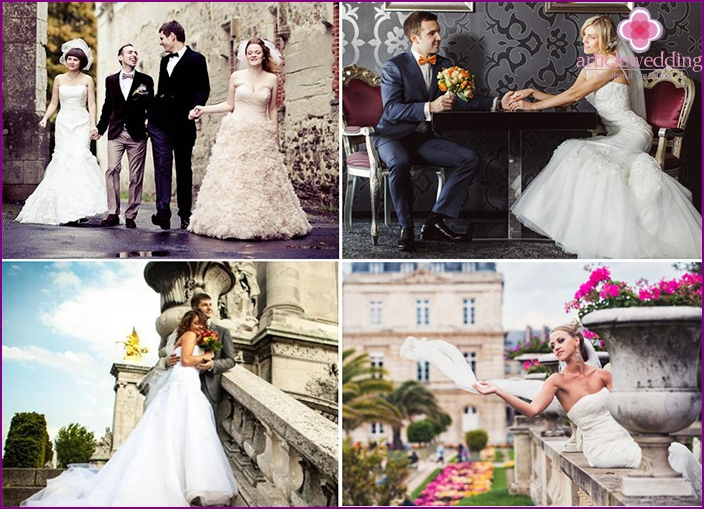 Wedding in the style of Paris