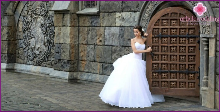 The castle is the perfect wedding venue