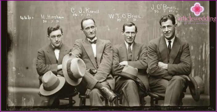 Real gangsters of gangster Chicago
