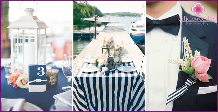 Motor ship wedding
