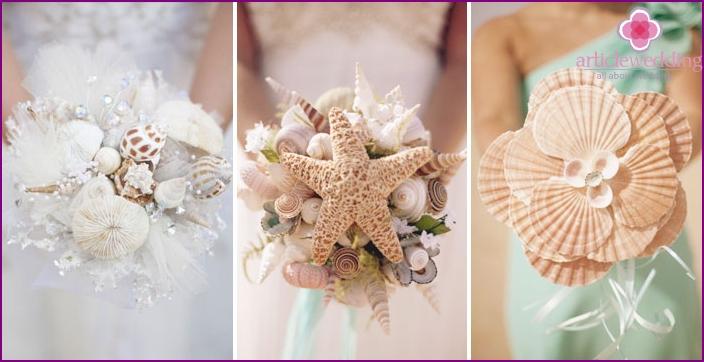 Original bridal bouquets