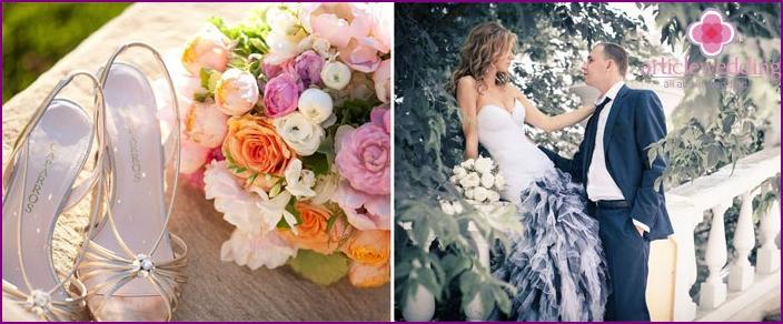 Klassischer Stil für eine Hochzeitsfeier