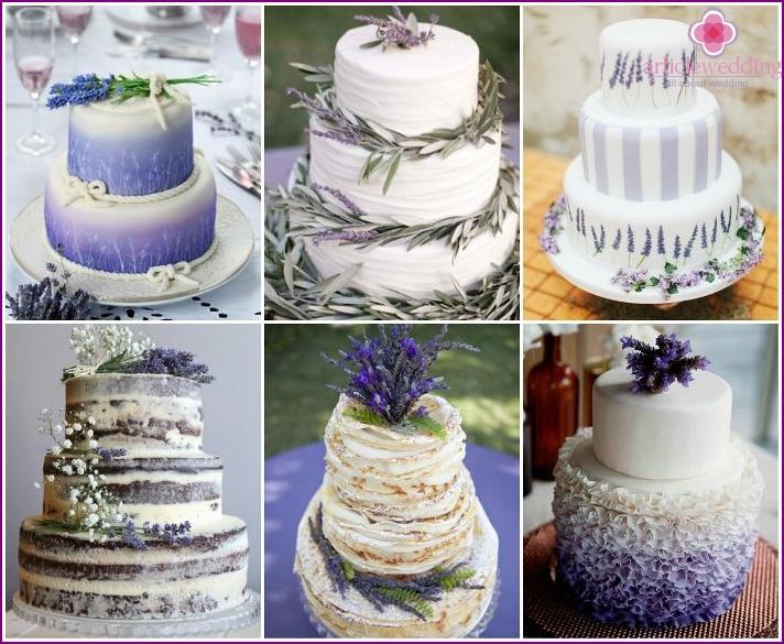 Provencal Style Wedding Cake