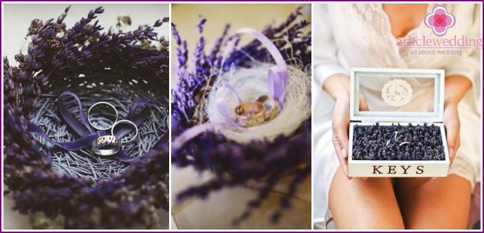 Lavender Ring Pads