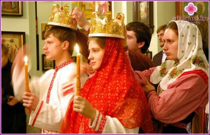 Beautiful Russian wedding