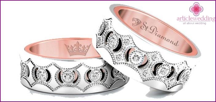 Chic Wedding Rings