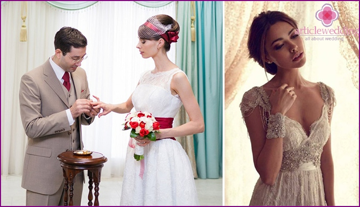 French Bride Clothing Style