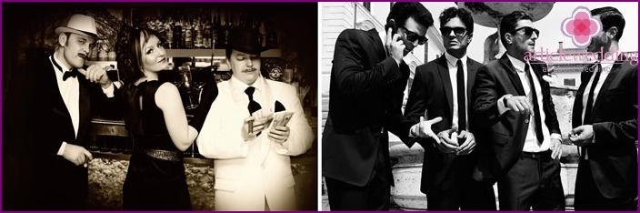 Italian Mafia Style Wedding