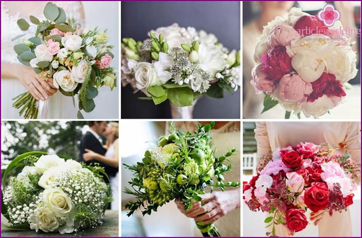 Italian wedding bouquets