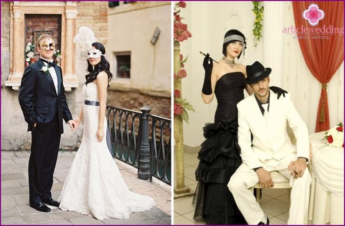 Photos of weddings in the Italian style