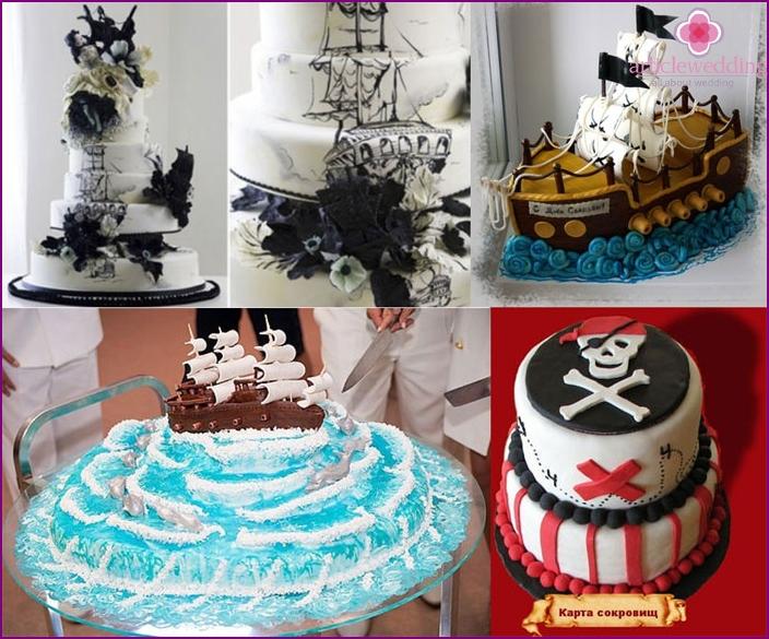 Photo: pirate style wedding