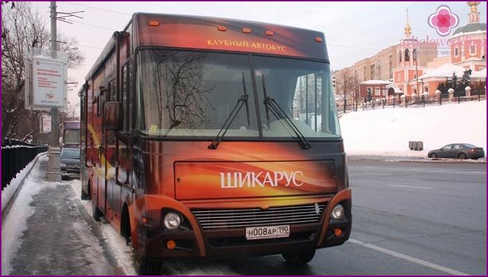 Mukavuusmalli: Club-bussi