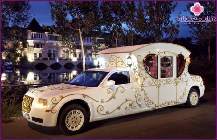 Chrysler wedding carriage