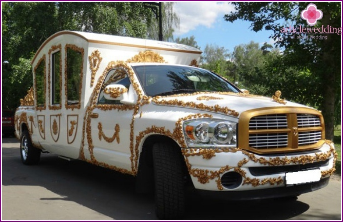 Wedding Dodge Carriage