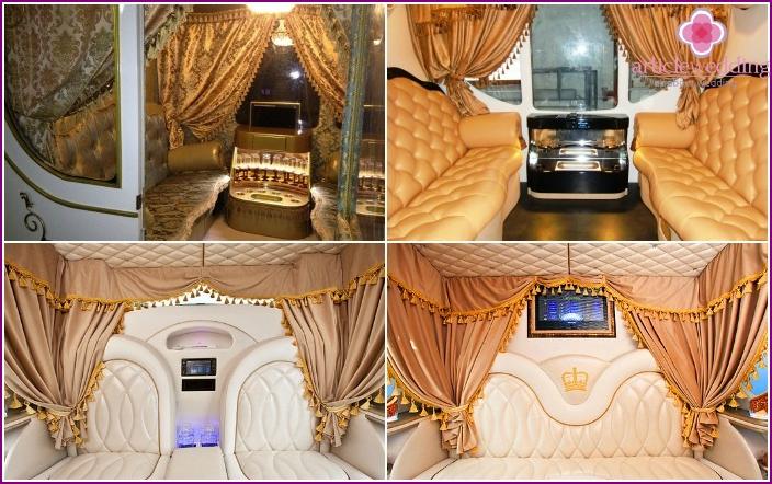 Wedding carriage car