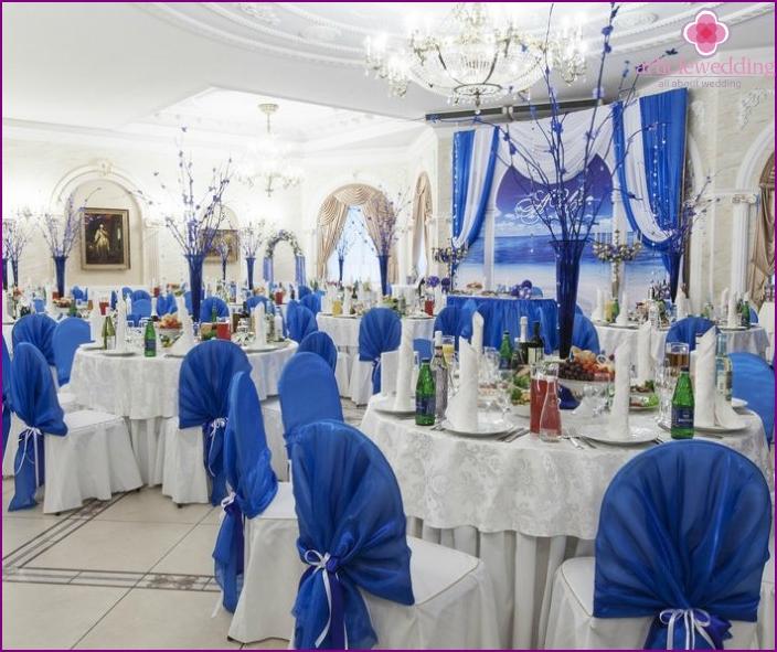 wedding hall accessories