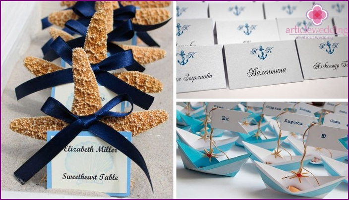 Options for a nautical-style celebration