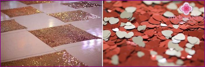 Bride porch floor decor
