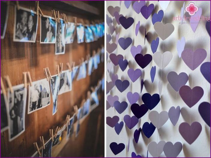 Bride porch wall decor